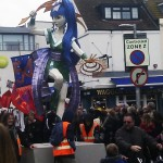 strange float at the brighton childrens parade