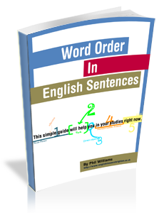 word order sentence structure eBook