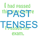 mixed past tenses exercise