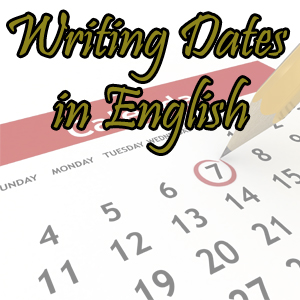 how to write dates in an essay