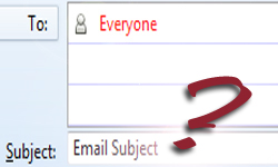 email subject exercise
