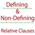 non-defining relative clauses that