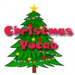 christmas vocabulary list