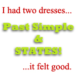 states and past simple