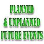 future simple planned unplanned events