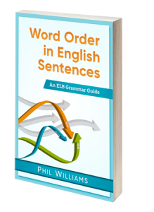 word order sentence structure book