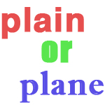 difference between plain and plane