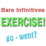 mixed bare infinitives exercise