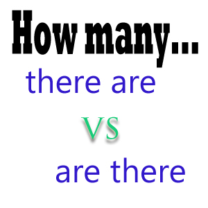 """""""How many there are"""" vs """"How many are there"""" in Reported Speech"""