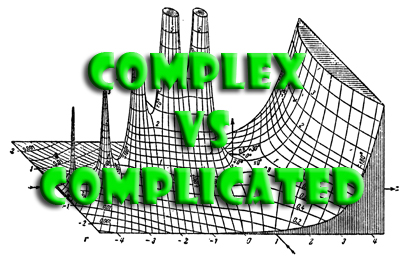 What's the difference between complex and complicated?