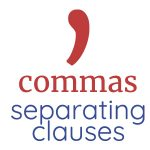 separating clauses with commas