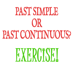 Ongoing or Complete? A Past Simple or Continous Exercise